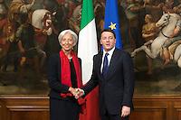 20141210 Incontro Lagarde Renzi