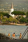 Mokuaikaua Church, Kailua-Kona, Big Island, Hawaii