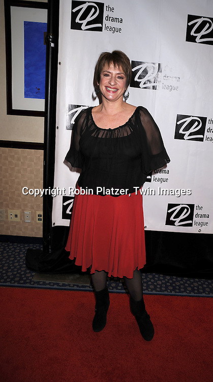 Patti LuPone..posing for photographers at The 74th Annual Drama League Awards Ceremony and Luncheon..on May 16, 2008 at The Marriott Marquis Hotel. ....Robin Platzer, Twin Images
