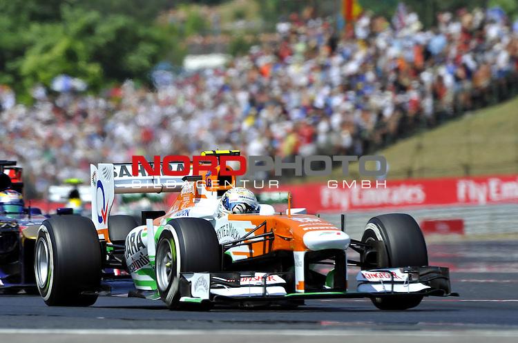 Adrian Sutil (GER), Force India Formula One Team <br />  Foto &not;&copy; nph / Mathis 25. - 28.07.2013, Hungaroring, Budapest, HUN, F1, Grosser Preis von Ungarn, Hungaroring, im Bild