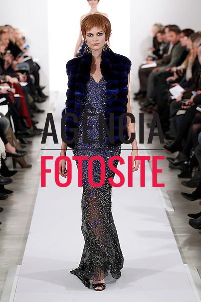 Nova Iorque, EUA &ndash; 02/2014 - Desfile de Oscar de la Renta durante a Semana de moda de Nova Iorque - Inverno 2014.&nbsp;<br /> Foto: FOTOSITE