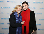 Susan Stroman and Irina Dvorovenko attends the Second Annual SDCF Awards, A celebration of Excellence in Directing and Choreography, at the Green Room 42 on November 11, 2018 in New York City.