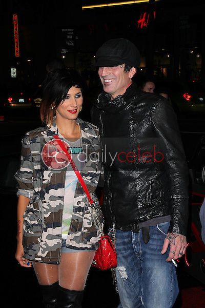 """Tommy Lee<br /> at the """"Re-Generation Music Project"""" World Premiere, Chinese Theater, Hollywood, CA 02-09-12<br /> David Edwards/DailyCeleb.com 818-249-4998"""