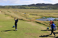 Pedro Oriol (ESP) tees off the par3 7th tee during Friday's Round 2 of the 2018 Dubai Duty Free Irish Open, held at Ballyliffin Golf Club, Ireland. 6th July 2018.<br /> Picture: Eoin Clarke | Golffile<br /> <br /> <br /> All photos usage must carry mandatory copyright credit (&copy; Golffile | Eoin Clarke)