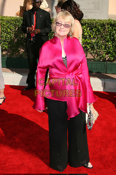 KATHRYN JOOSTEN.58th Annual Creative Arts Emmy Awards held at the Shrine Auditorium, Los Angeles, California, USA.August 19th, 2006.Ref: ADM/ZL.full length black trousers pink top.www.capitalpictures.com.sales@capitalpictures.com.©Zach Lipp/AdMedia/Capital Pictures.