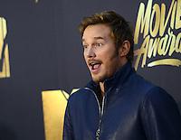 Chris Pratt @ the 2016 MTV Movie Awards held @ the Warner studios.<br /> April 9, 2016