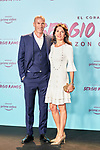 Zinedine Zidane and Veronique Zidane in the world preview of EL CORAZÓN DE SERGIO RAMOS, documentary series about the life of the captain of Real Madrid and the Spanish Soccer Team, at the Reina Sofía Museum on September 10, 2019 in Madrid, Spain.<br />  (ALTERPHOTOS/Yurena Paniagua)