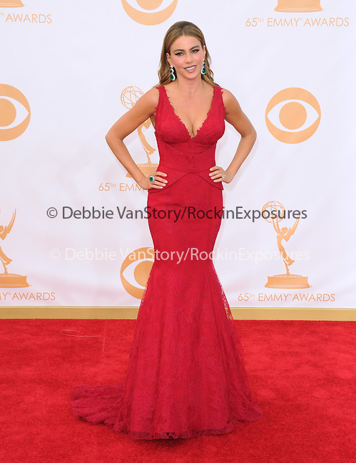 Sofia Vergara attends 65th Annual Primetime Emmy Awards - Arrivals held at The Nokia Theatre L.A. Live in Los Angeles, California on September 22,2012                                                                               © 2013 DVS / Hollywood Press Agency
