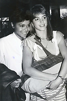 Cindy Gibb &amp; Janet Jackson 1978<br /> Photo By John Barrett-PHOTOlink.net / MediaPunch