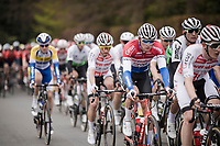 Mathieu Van Der Poel (NED/Correndon-Circus)<br /> <br /> 59th De Brabantse Pijl - La Flèche Brabançonne 2019 (1.HC)<br /> One day race from Leuven to Overijse (BEL/196km)<br /> <br /> ©kramon