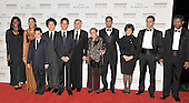 Washington, DC - December 5, 2009 -- Robert De Niro, one of the 2009 Kennedy Center honorees, and his family arrive for the formal Artist's Dinner at the United States Department of State in Washington, D.C. on Saturday, December 5, 2009..Credit: Ron Sachs / CNP.(RESTRICTION: NO New York or New Jersey Newspapers or newspapers within a 75 mile radius of New York City)