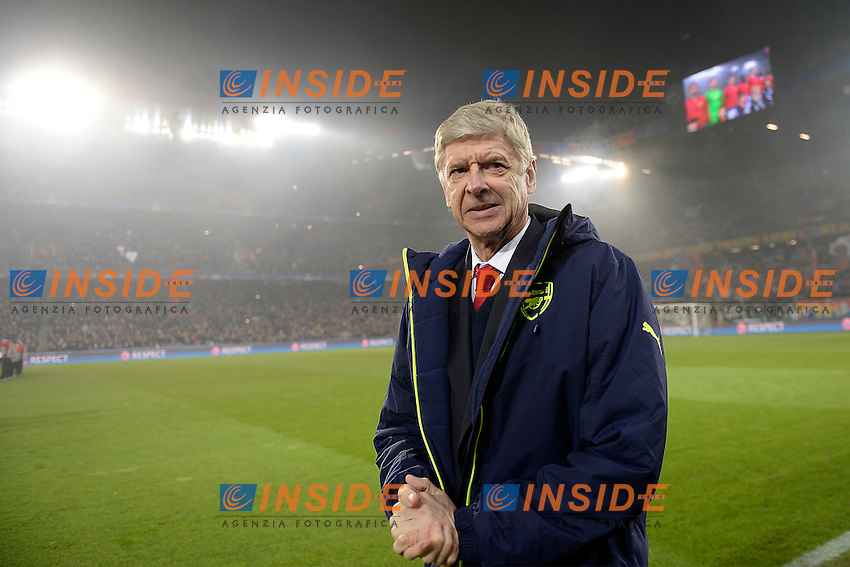 06-12-2016 Basilea Football Champions League - Group Stage Basilea - Arsenal Trainer Arsene Wenger (Arsenal) (Daniela Frutiger/freshfocus/Insidefoto)