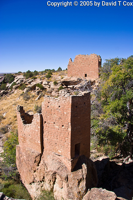 Holly ruins,  Hovenweep, Anasazi, Utah, USA
