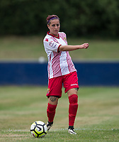 Amy Josland of Stevenage Ladies during the pre season friendly match between Stevenage Ladies FC and Watford Ladies at The County Ground, Letchworth Garden City, England on 16 July 2017. Photo by Andy Rowland / PRiME Media Images.