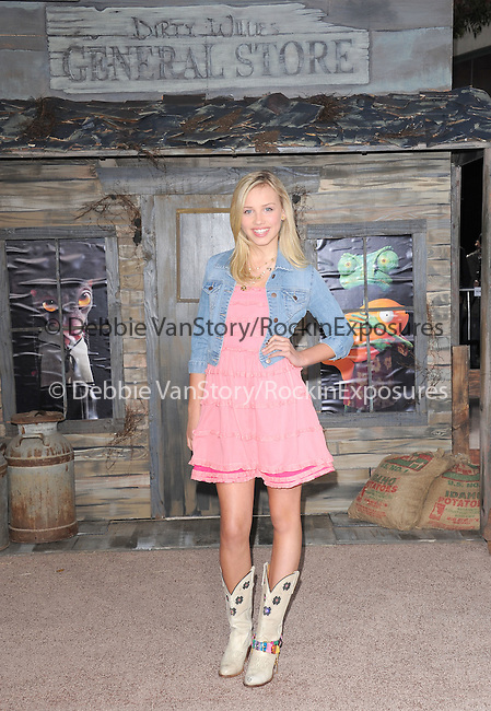 Gracy Dzienny attends The Paramount Pictures' L.A. Premiere of RANGO held at The Regency Village Theatre in Westwood, California on February 14,2011                                                                               © 2010 DVS / Hollywood Press Agency