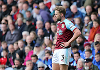 Burnley's Charlie Taylor<br /> <br /> Photographer Rich Linley/CameraSport<br /> <br /> The Premier League - Saturday 13th April 2019 - Burnley v Cardiff City - Turf Moor - Burnley<br /> <br /> World Copyright © 2019 CameraSport. All rights reserved. 43 Linden Ave. Countesthorpe. Leicester. England. LE8 5PG - Tel: +44 (0) 116 277 4147 - admin@camerasport.com - www.camerasport.com