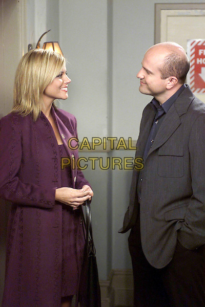 TIFFANY THIESSEN & ENRICO COLANTONI.in Just Shoot Me!.Filmstill - Editorial Use Only.Ref: FB.www.capitalpictures.com.sales@capitalpictures.com.Supplied By Capital Pictures.