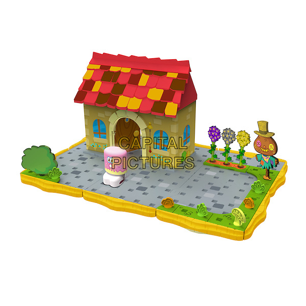 Bobble Bots Moshi Monsters House.Dream Toys 2012.*Editorial Use Only*.toy  .CAP/PLF.Supplied by Capital Pictures.