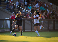STANFORD, CA - August 10, 2018: Carly Malatskey at Laird Q. Cagan Stadium. The Stanford Cardinal defeated the Fresno State Bulldogs 4-0.