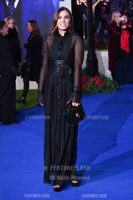 "LONDON, UK. December 12, 2018: Amber Le Bon at the UK premiere of ""Mary Poppins Returns"" at the Royal Albert Hall, London.<br /> Picture: Steve Vas/Featureflash"