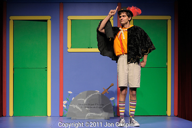 "Paint Box Theatre production of ""The Sword in the Stone""..©2011 Jon Crispin.ALL RIGHTS RESERVED.."