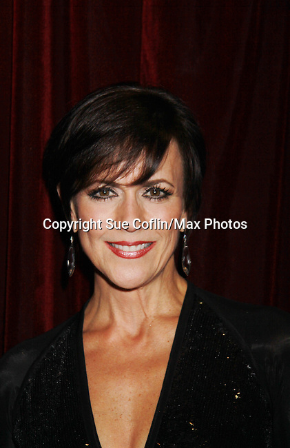 """As The World Turns Colleen Zenk stars in her one-woman cabaret show """"Colleen Zenk - Still Sassy"""" on October 30, 2011 at Feinstein's at Loews Regency, New York City, New York. They sang together and shared stories.  (Photo by Sue Coflin/Max Photos)"""