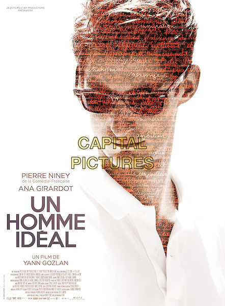 POSTER ART<br /> in Un homme ideal (2015) <br /> *Filmstill - Editorial Use Only*<br /> CAP/NFS<br /> Image supplied by Capital Pictures