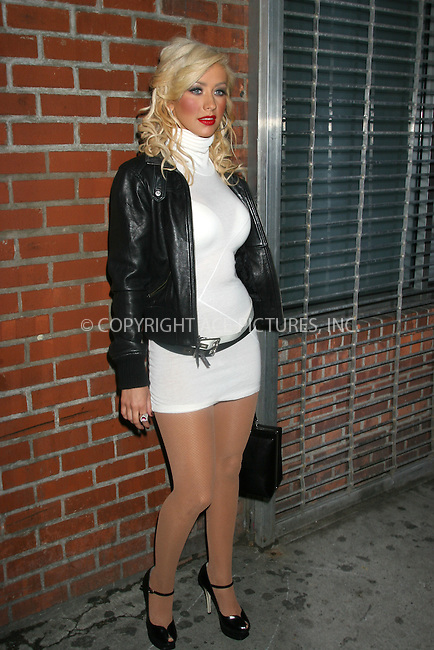 23 March 2007 - New York, NY - Christina Aguilera Back to Basics After Party at the Marquee.