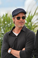 "CANNES, FRANCE. May 22, 2019: Brad Pitt at the photocall for ""Once Upon a Time in Hollywood"" at the 72nd Festival de Cannes.<br /> Picture: Paul Smith / Featureflash"
