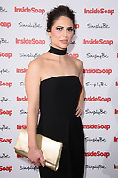 Nicola Thorp at the Inside Soap Awards 2017 held at the Hippodrome, Leicester Square, London, UK. <br /> 06 November  2017<br /> Picture: Steve Vas/Featureflash/SilverHub 0208 004 5359 sales@silverhubmedia.com
