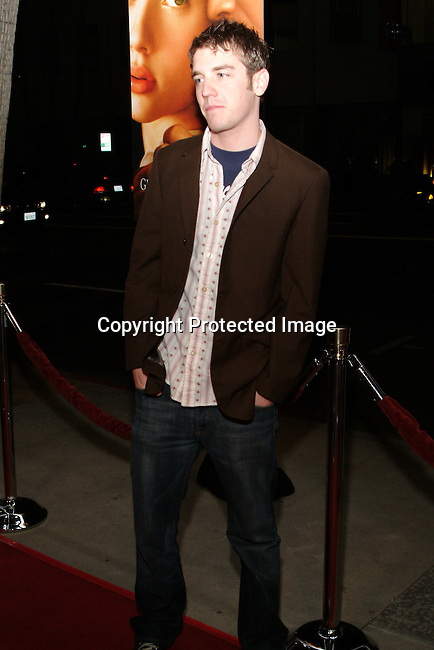 Bret Harrison <br />IRL WITH A PEARL EARRING   Los Angeles Premiere<br />The Academy of Motion Pictures Arts &amp; Sciences, Samuel Goldwyn Theatre<br />Beverly Hills, CA, USA<br />Wednesday, December 10th, 2003    <br />Photo By Celebrityvibe.com/Photovibe.com