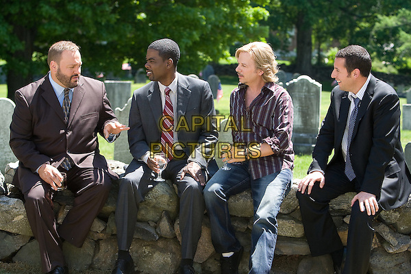 KEVIN JAMES, CHRIS ROCK, DAVID SPADE & ADAM SANDLER.in Grown Ups.*Filmstill - Editorial Use Only*.CAP/FB.Supplied by Capital Pictures.