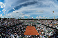 General view of Philippe Chatrier Court during Day 12 of the French Open 2018 at Roland Garros on June 7, 2018 in Paris, France. (Photo by Baptiste Fernandez/Icon Sport)