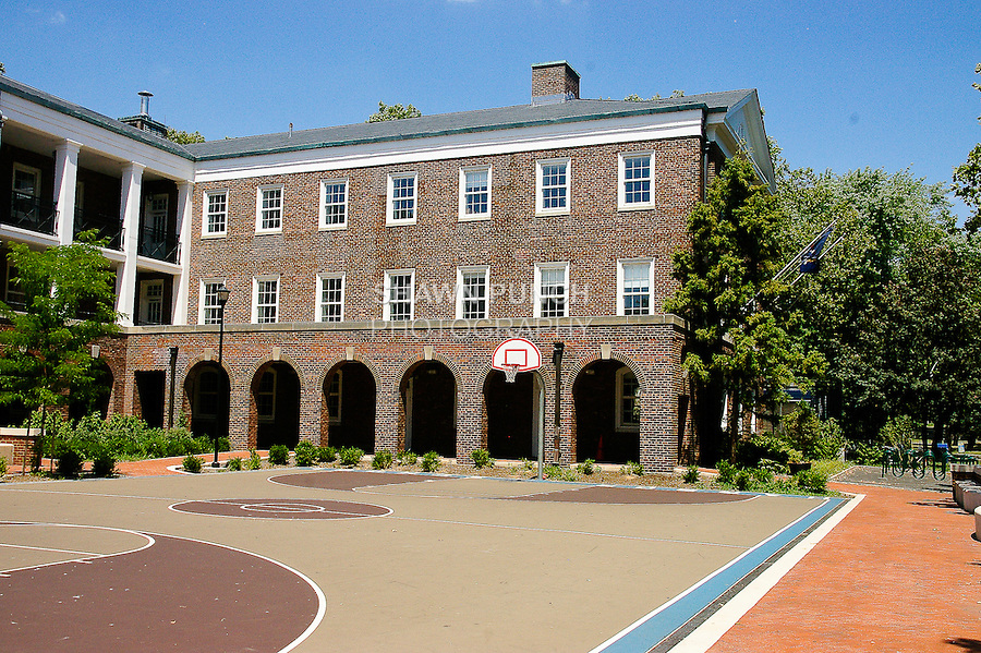 View of New York Harbor School grounds, during my Governors Island bike ride on July 17, 2011. http://tinyurl.com/4342uth