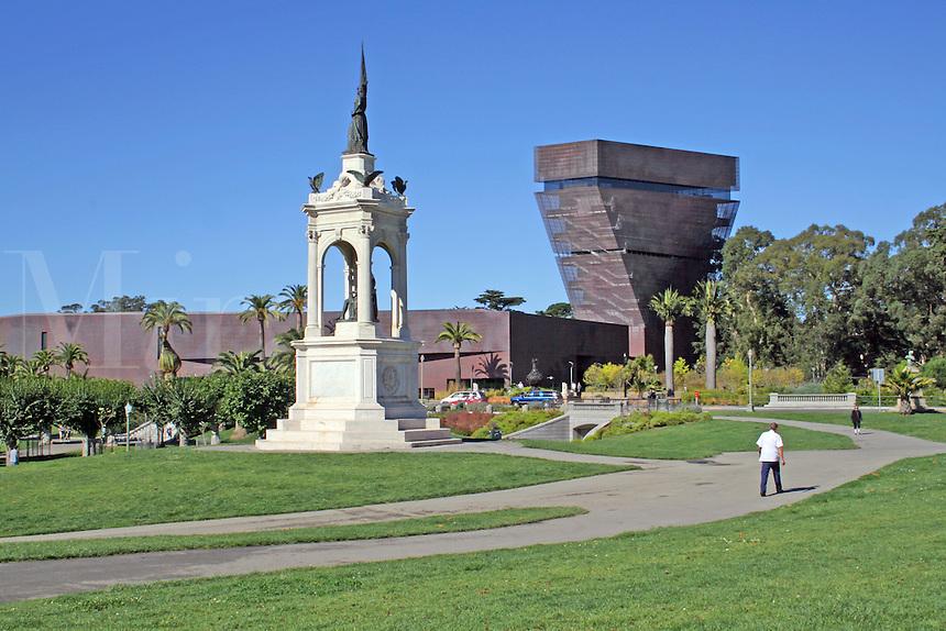 de Young Art Museum, Golden Gate Park, San Francisco California