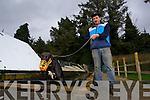 Liam Dowling Greyhound Breeder at his facility in Ballymacelligott, Tralee.