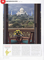 Cond&eacute; Nast Traveler (Spanish  edition), October 2012, &quot;Room with a View&quot; feature.<br />