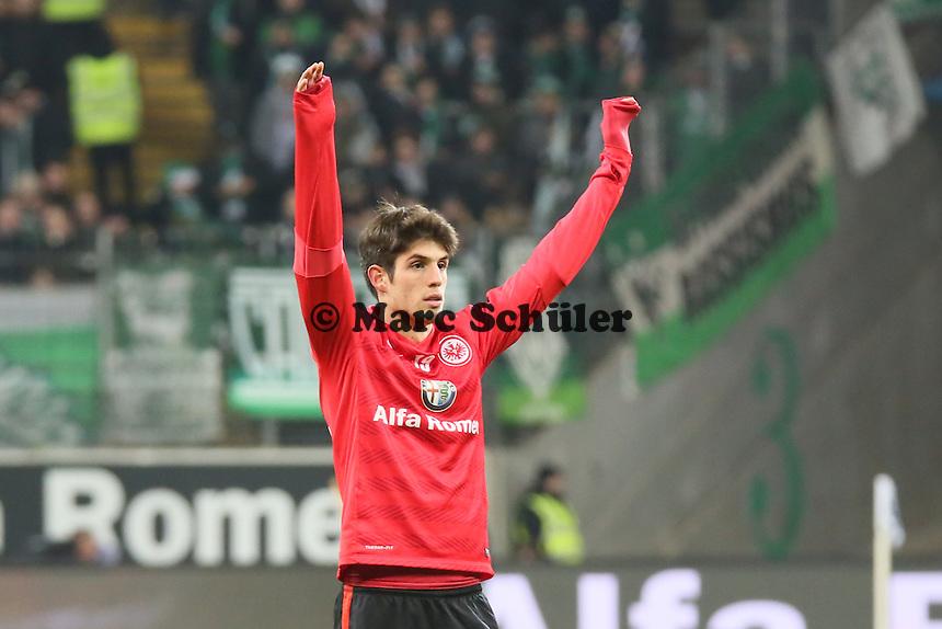 Lucas Piazon (Eintracht) - Eintracht Frankfurt vs. SV Werder Bremen, Commerzbank Arena
