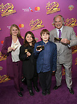 Bonnie Comley, Lenny Lane, Frankie Lane and Stewart F. Lane attend the Broadway Opening Performance of 'Charlie and the Chocolate Factory' at the Lunt-Fontanne Theatre on April 23, 2017 in New York City.