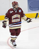 Matt Greene - The Boston College Eagles defeated the University of North Dakota Fighting Sioux 6-5 on Thursday, April 6, 2006, in the 2006 Frozen Four afternoon Semi-Final at the Bradley Center in Milwaukee, Wisconsin.