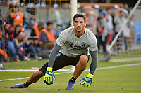 San Jose, CA - Saturday June 09, 2018: Andrew Tarbell during a Major League Soccer (MLS) match between the San Jose Earthquakes and Los Angeles Football Club at Avaya Stadium.