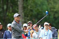 Rory McIlroy (NIR) on his way to winning the  Deutche Bank Championship, TPC Boston, Boston, Massachusetts, USA. 5/9/16<br /> Picture: Golffile | JJ Tanabe<br /> <br /> <br /> All photo usage must carry mandatory copyright credit (&copy; Golffile | JJ Tanabe)