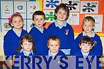 The 2012 Junior Infant class at Raheen NS, Glenflesk at school on Thursday front row l-r: Elizabeth Roche, Sean O'Sullivan, Rachel Murphy. Back row: Clodagh McCarthy, Eoin Reen, John Scannell and Adam Hobbs..