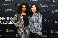 """WEST HOLLYWOOD - APRIL 22: Actress Angela Bassett and producer Janet Hon Vissering attend an FYC screening and Q&A for National Geographic's """"The Flood"""" at SilverScreen Theater on April 22, 2019 in West Hollywood, California. (Photo by Vince Bucci/National Geographic/PictureGroup)"""