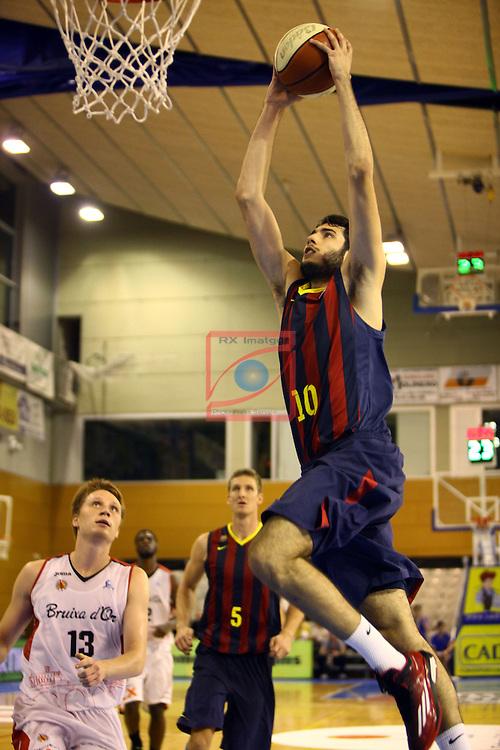 Regal XXXV Llia Nacional Catalana ACB 2014-Semifinals.<br /> FC Barcelona vs La Bruixa d'Or Manresa: 82-66.<br /> Alex Abrines.