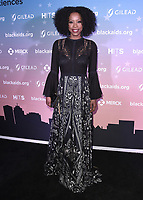 LOS ANGELES - DECEMBER 1:  Karimah Westbrook at The The Black AIDS Insitute 2018 Hosts Heroes in The Struggle Gala at The California African-American Museum on December 1, 2018 in Los Angeles, California. (Photo by Scott Kirkland/Fox/PictureGroup)