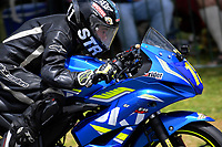 Jesse Stroud (Hamilton) competes in the Suzuki Gixxer Cup. The 2018 Suzuki series Cemetery Circuit motorcycle racing at Cooks Gardens in Wanganui, New Zealand on Wednesday, 28 December 2018. Photo: Dave Lintott / lintottphoto.co.nz