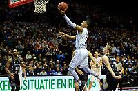 GRONINGEN - Basketbal, Donar - Cluj ,  Europe League, seizoen 2017-2018, 24-01-2018,  score van Donar speler Teddy Gipson