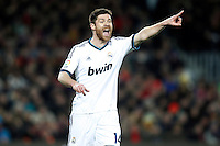 Real Madrid's Xabi Alonso during Copa del Rey - King's Cup semifinal second match.February 26,2013. (ALTERPHOTOS/Acero) /Nortephoto