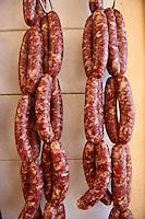 "Syros Sausages ""skordoloukanika"" (sausages with garlic),  Syros Island [ ????? ] , Greek Cyclades Islands"